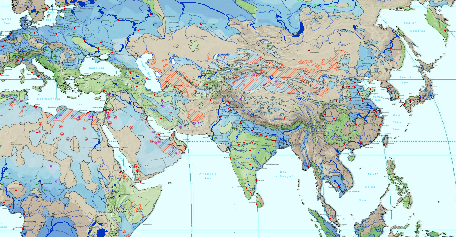 Cat Map Of The World.Unesco Launches Global Aquifer Map Water For The Ages