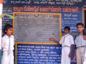 Monthly Precipitation Chalkboard