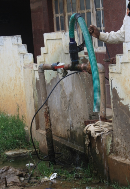 Leaking Bore Well