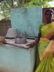Anna Lakshmi and Water Tap