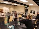 Students Measuring Water Flow